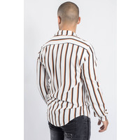 Y Summer Blouse Striped white