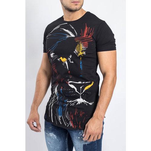 Y T-shirt Lionking BLACK