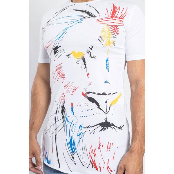 Y T-shirt Lionking WHITE