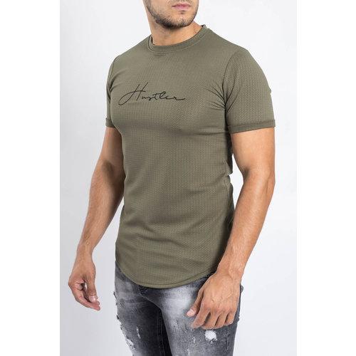 Y T-shirt Hustler Army Green