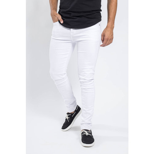 Y Skinny fit stretch jeans WHITE