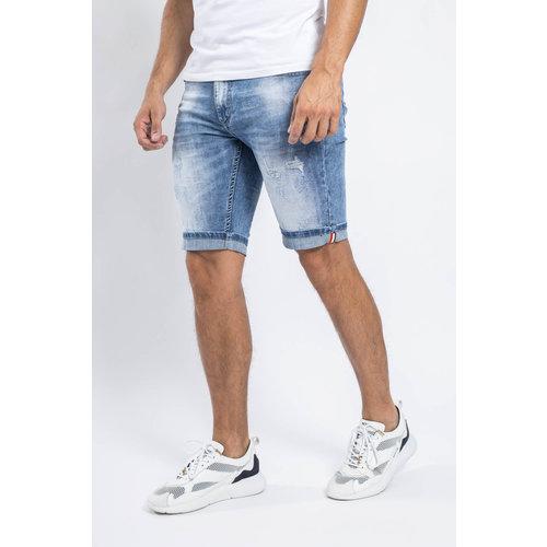 Y Jeans stretch shorts Light Blue