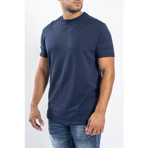 Y Crewneck T-shirt oversized Dark Blue