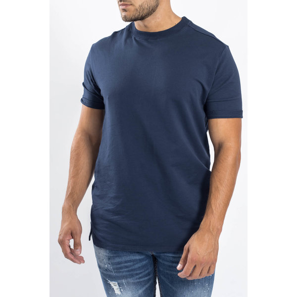 Y Crewneck T-shirt oversized Dark Blue