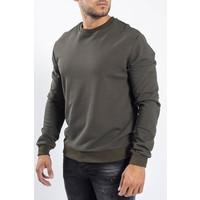 Y Crewneck Sweaters Green
