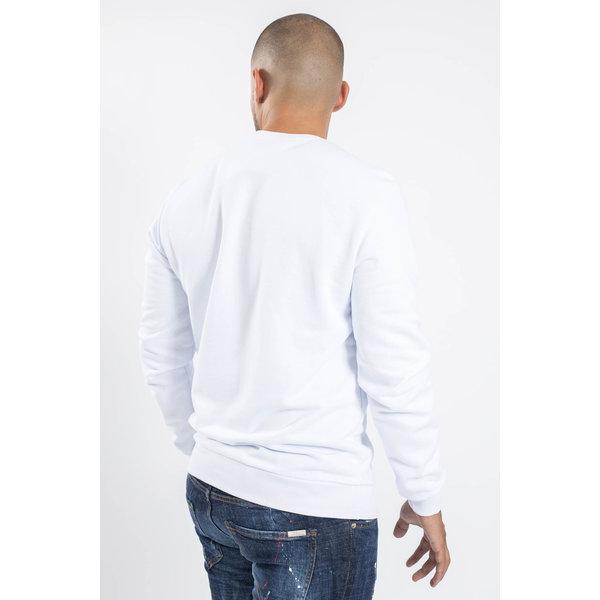Y Crewneck Sweaters White