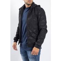 Y Camo Jacket Black