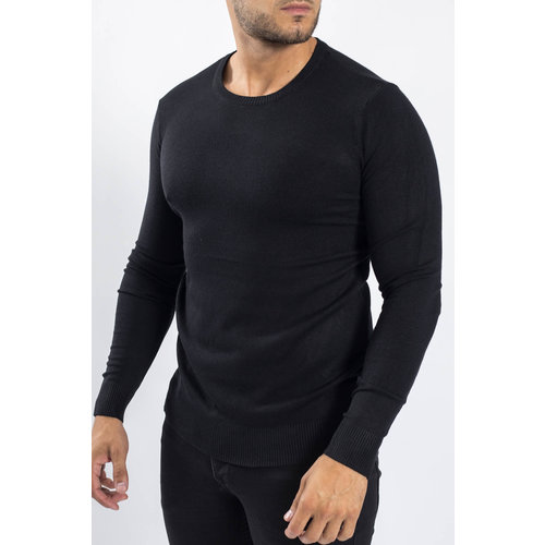 Y Knitwear crewneck Black