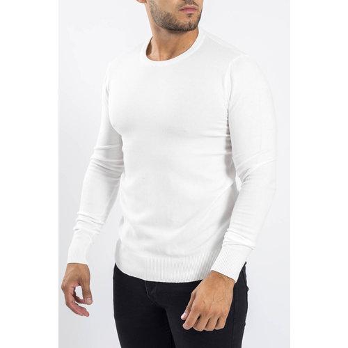 Y Knitwear crewneck White
