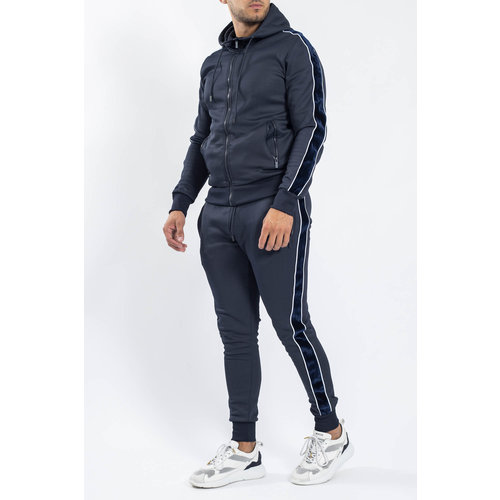 Y Tracksuit Velvet striped Blue