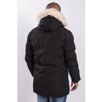 Y Winter parka faux fur Black