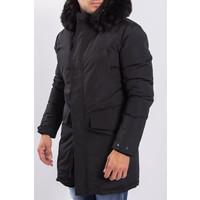 Y Winter parka faux fur Black on Black