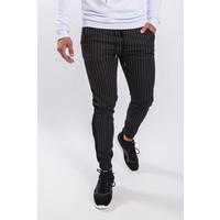Y Track pants / pantalon velvet striped Black