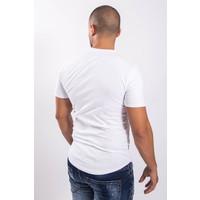 Y T-shirt Lips White