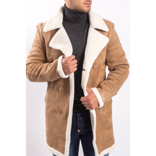 Y Lammy coat Beige