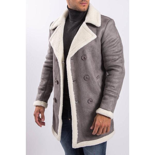 Y Lammy coat Grey