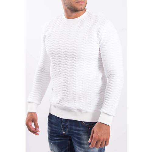 "Y Sweater ""3D"" White"