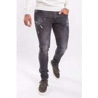 Y Skinny fit stretch jeans Grey splashed