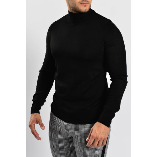 Y Turtle Neck Black