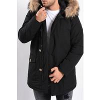 Y Winter Parka (real fur) Black