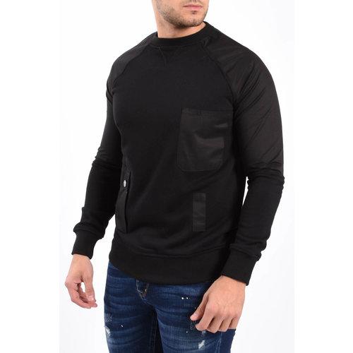 Y XPLCT Cargo Sweater Black