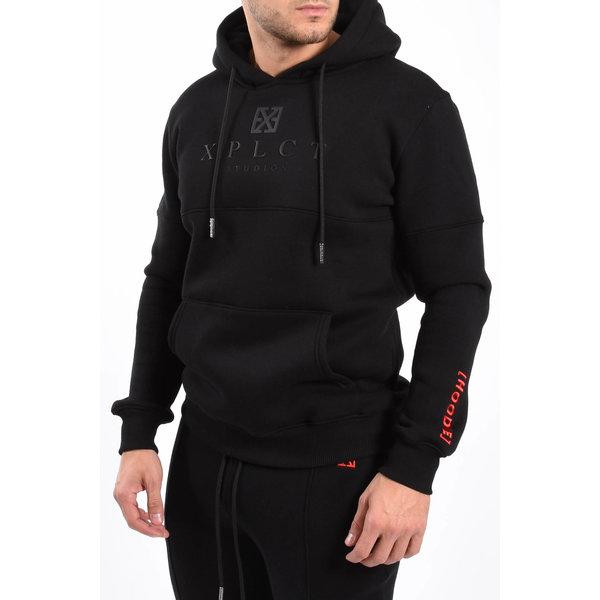 Y XPLCT Brand Hoodie Black