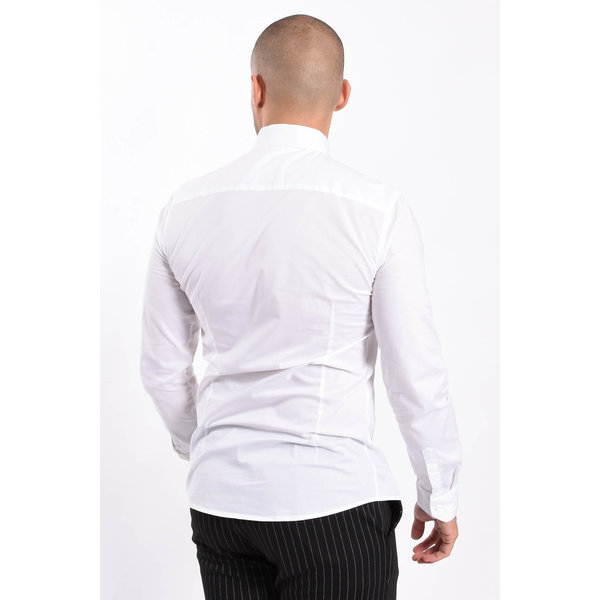 Y Slim Fit Blouse White