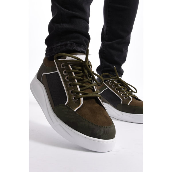Y Sneakers Green/White