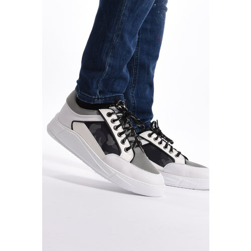 Y Sneakers White Grey/White