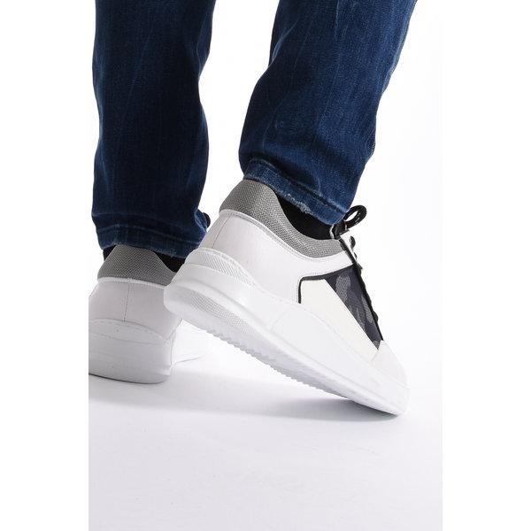 Y Sneakers White Grey/White