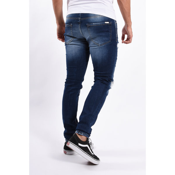 Y Skinny fit stretch jeans Blue washed