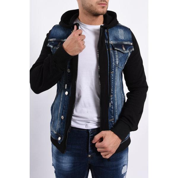Y Denim Vest Blue / Black