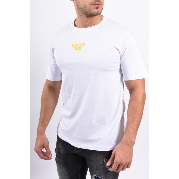 """Y T-shirt """"02""""  white"""