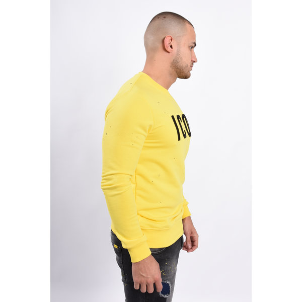 "Y Sweater ""icon"" Yellow / Black"