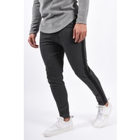 Y Pantalon Striped Dark Grey