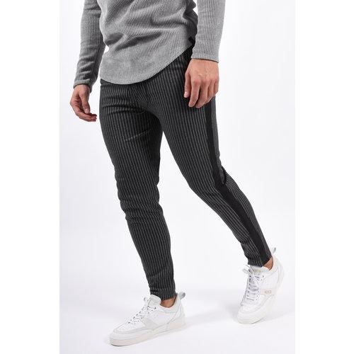 Y Pantalon Striped Dark Grey