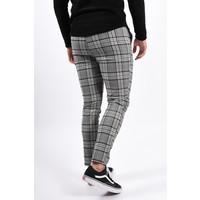 Y Pantalon / Track pants checkered black / beige