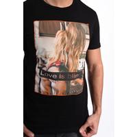 """Y T-shirt """"Love is blind"""" Black"""