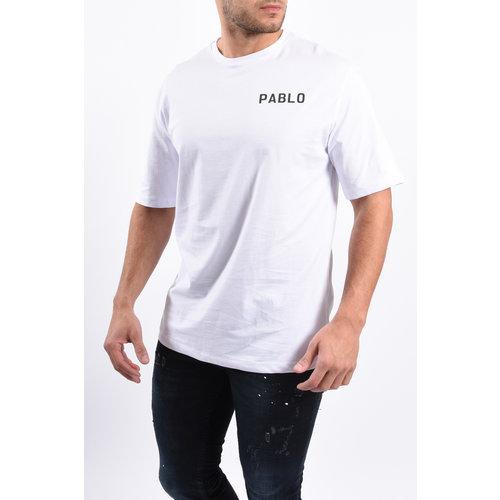 """Y T-shirt """"Pablo"""" White"""