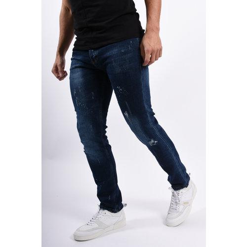 Y Skinny / Slim Fit Jeans Dark Blue