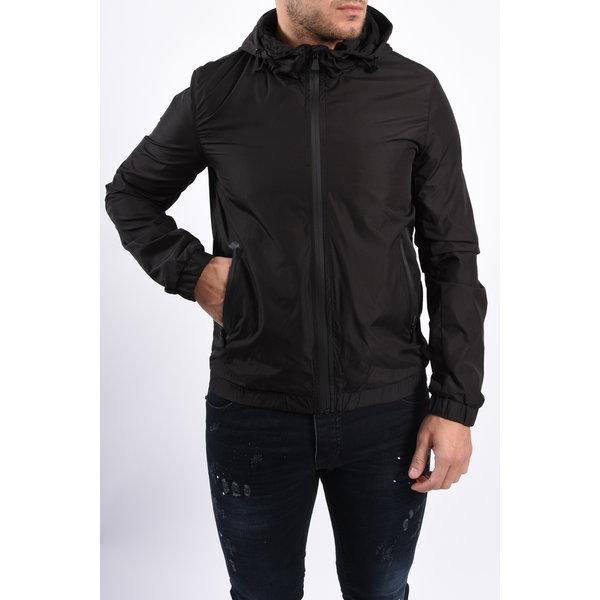 Y Hooded Jacket Black
