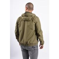 Y Hooded Jacket Green