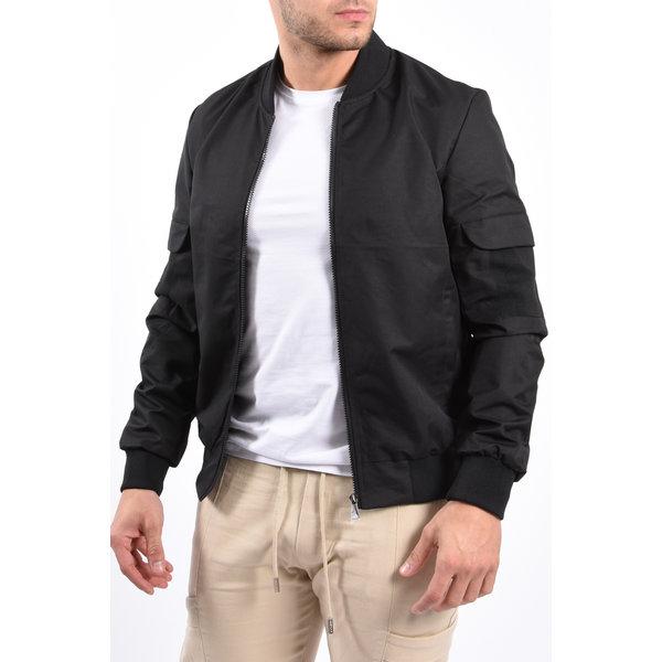 Y Bomber Jacket Black