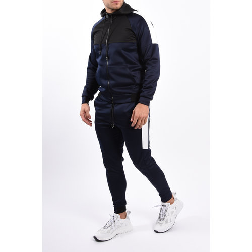 Y Tracksuit Blue / Black / White