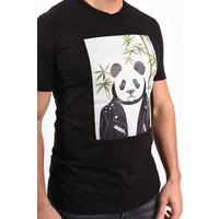 "Y T-shirt ""cool panda"" Black"