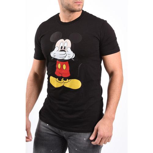 "Y T-shirt ""Mickey"" Black"
