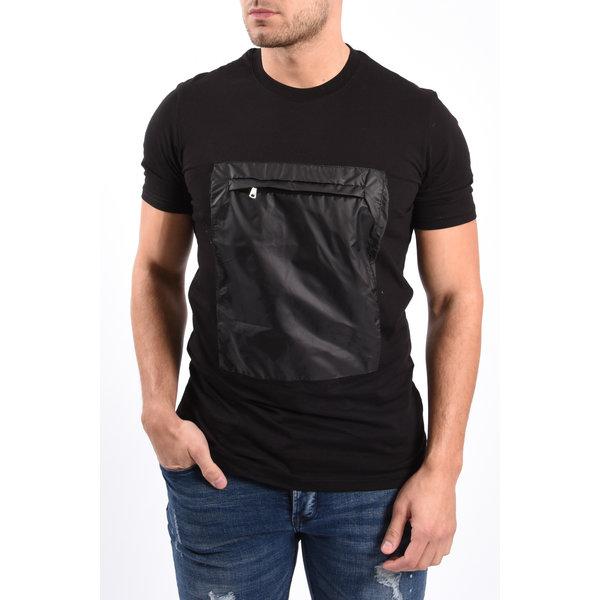 """Y T-shirt """"kangaroo"""" Black"""