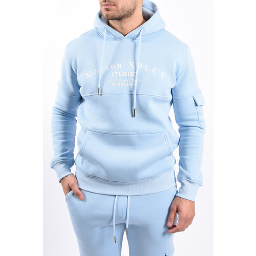 Y XPLCT Studio Hoodie Light Blue