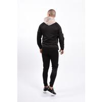 Y Tracksuit Black / Beige / White