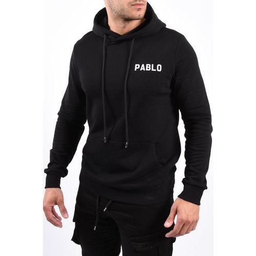 Y Pablo Hoodie  Black